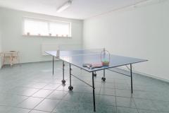 """Sala pingponga - Ośrodek Terapii """"Strefa Trzeźwości"""""""